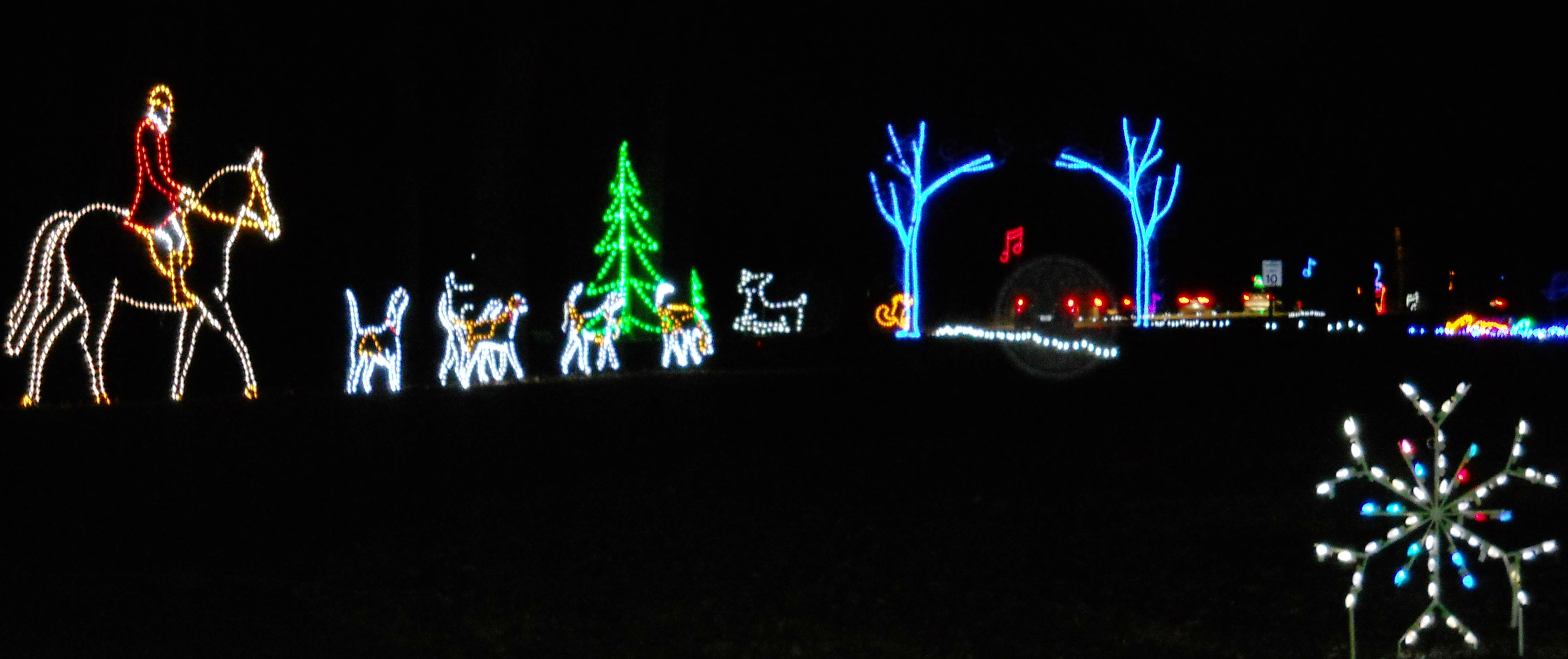 Bull Run Christmas Lights Pictures Wallpapers