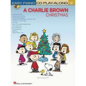 charlie brown christmas sheet music oJcd