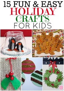children christmas crafts BDut