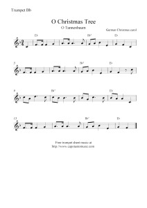 christmas carol sheet music mcAv