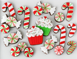 christmas cookie decorating ctPu