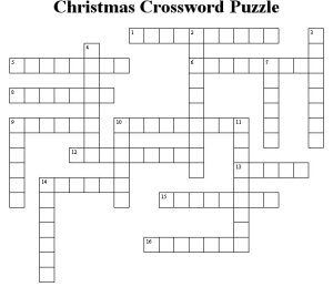 christmas crosswords aZuR
