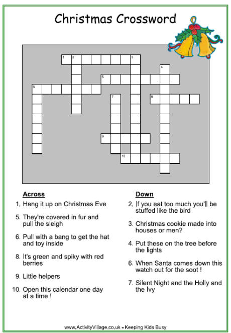 Christmas Crosswords Pictures Wallpapers