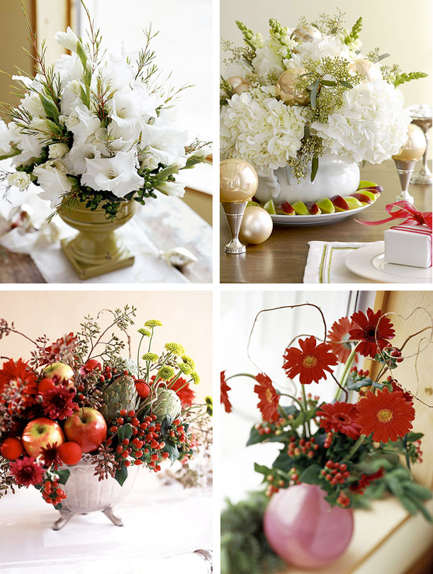 Christmas Flower Centerpieces Pictures Wallpapers