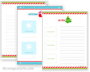 christmas gift list template mwJP