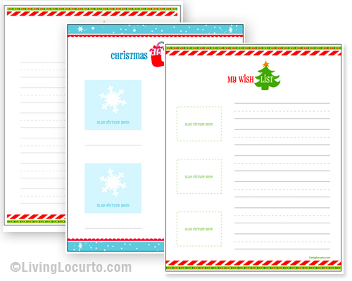 Christmas Gift List Template Pictures Wallpapers