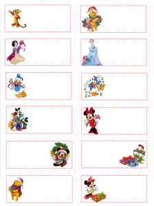 christmas labels template FrGm