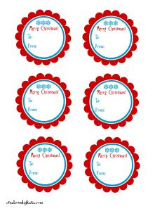 christmas labels template lgDA