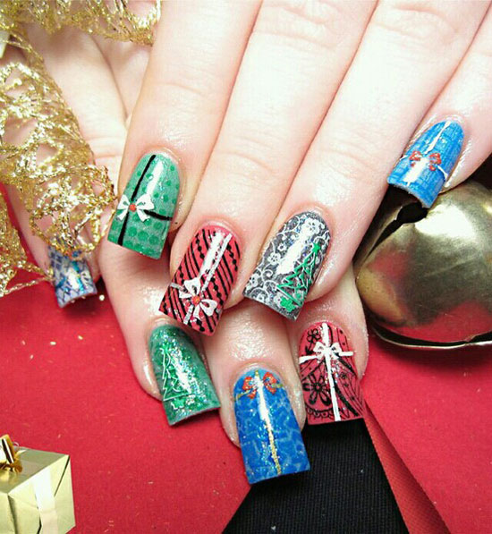 Christmas Nail Art Ideas Pictures Wallpapers