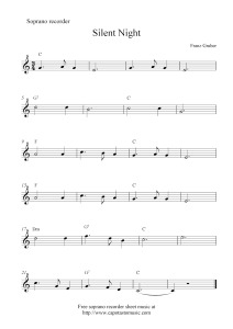 christmas piano sheet music free Tdew