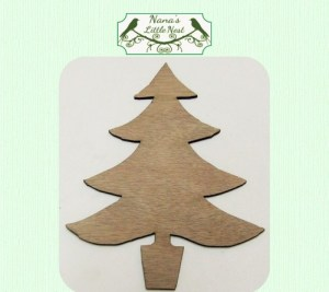 christmas tree cut out PDLH