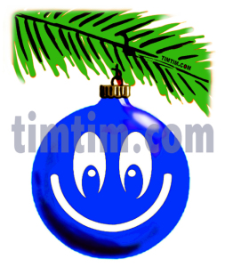 christmas tree emoticon wXFB