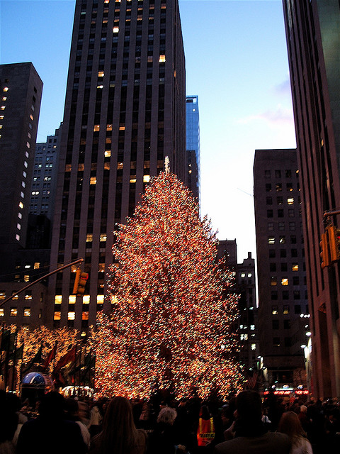 Christmas Tree Lighting Nyc Pictures Wallpapers