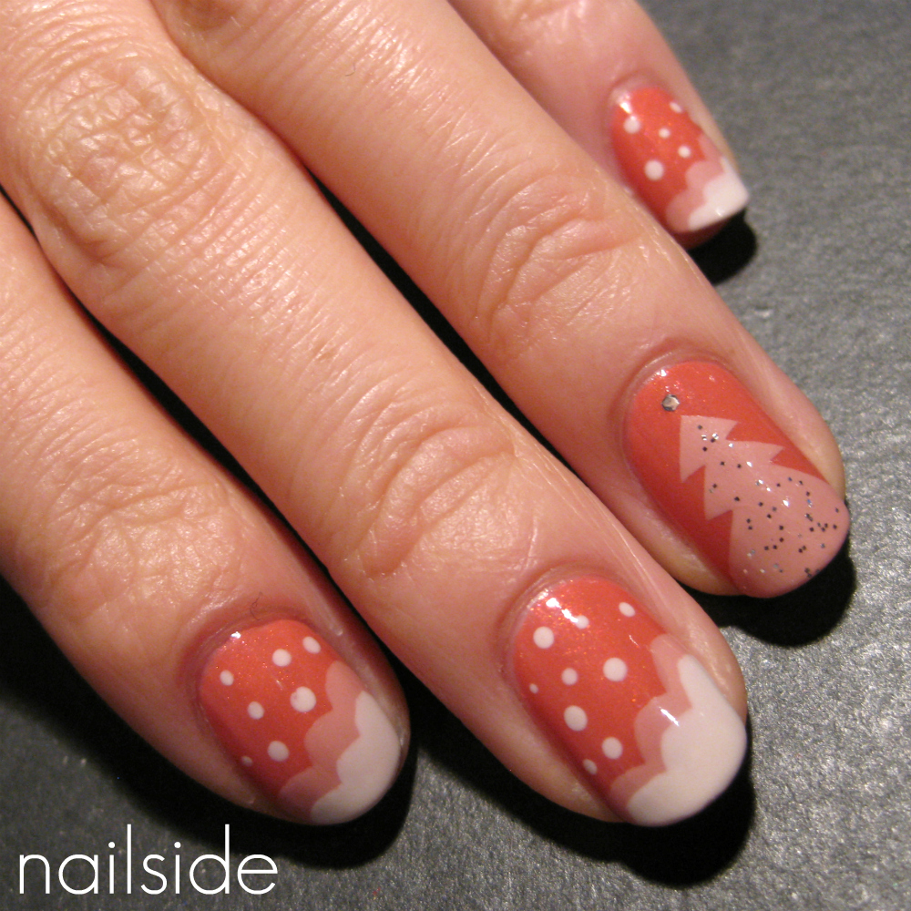 Christmas Tree Nail Art Pictures Wallpapers