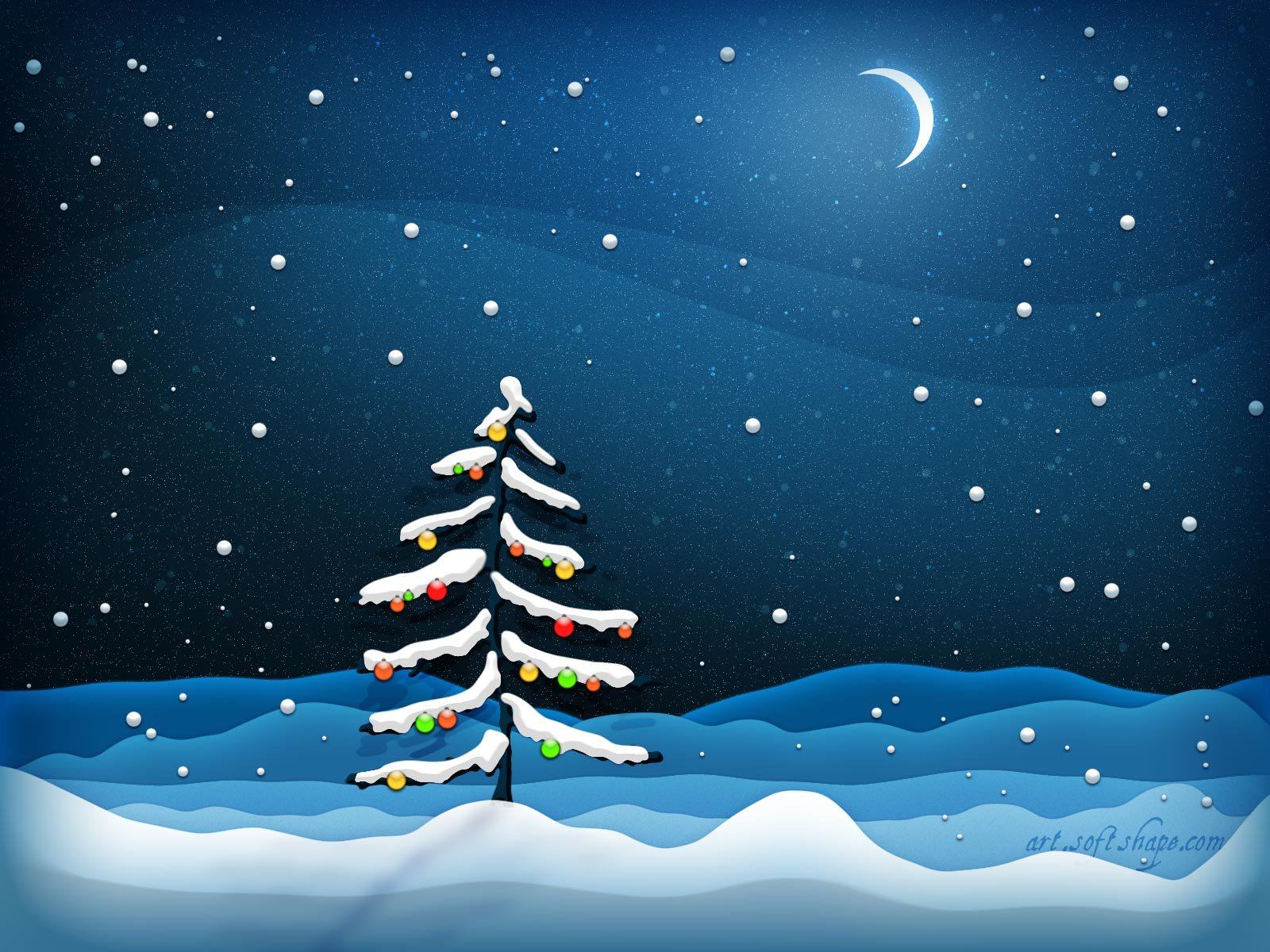 Christmas Tree Theme Pictures Wallpapers
