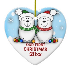 couples christmas ornaments yDPa