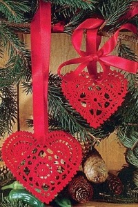 crocheted christmas ornaments pMNu