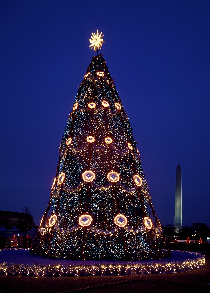 Dc Christmas Tree Pictures Wallpapers