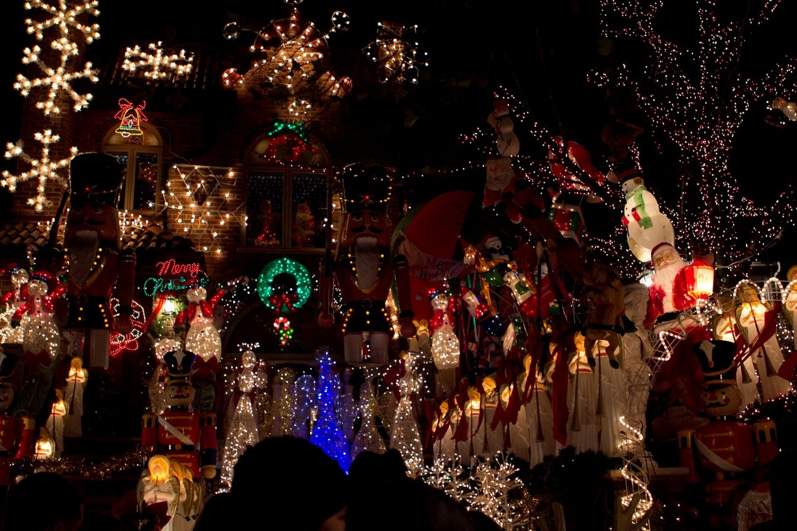 Dyker Heights Christmas Lights Tour Pictures Wallpapers