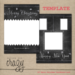 free christmas card templates for photographers KHiI