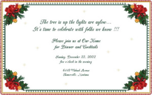free christmas invitations yYdJ