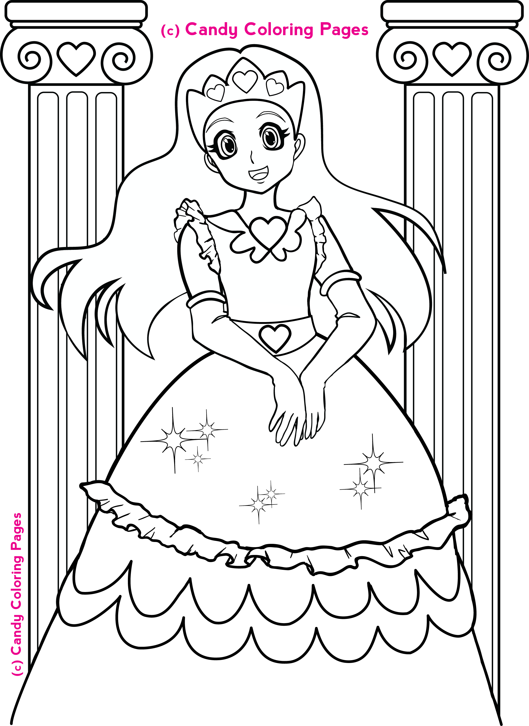 Free Coloring Pages Christmas Pictures Wallpapers