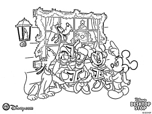 free coloring pages christmas oArh