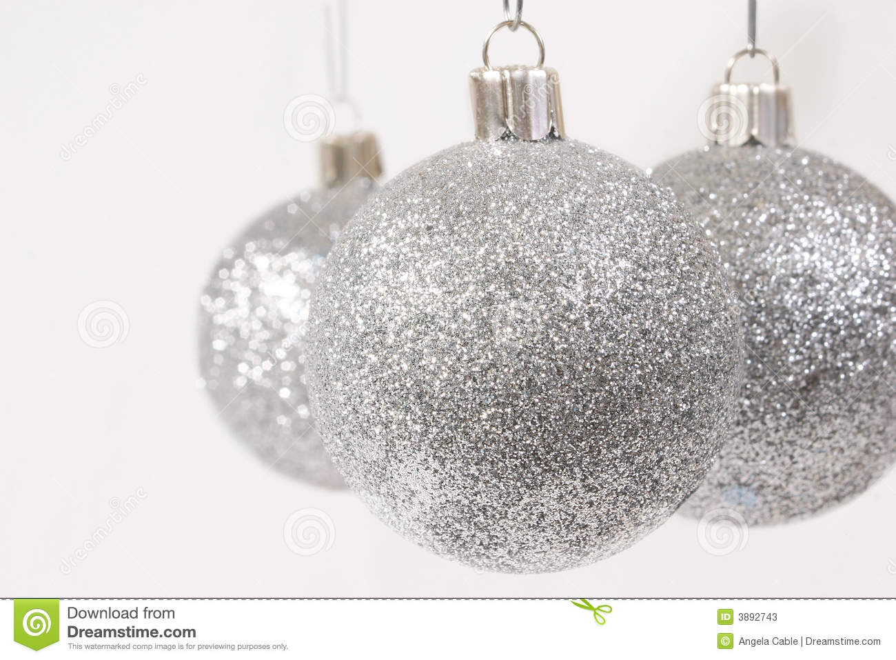 Glitter Christmas Ornaments Pictures Wallpapers