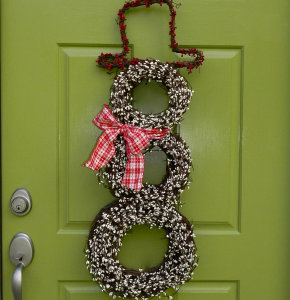 how to decorate a christmas wreath YbQO