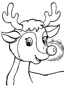 kids christmas coloring pages mKqd