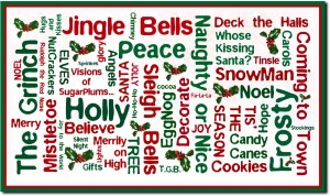 list of christmas words MvkZ