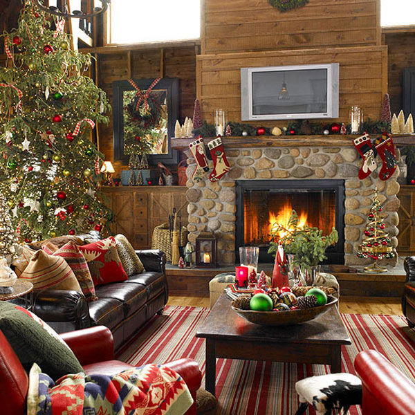 Mantel Christmas Ideas Pictures Wallpapers