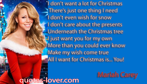 Mariah Carey Christmas... Mariah Carey Christmas Songs List