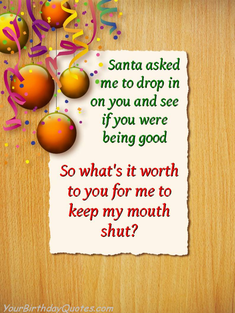 Naughty Christmas Jokes Pictures Wallpapers