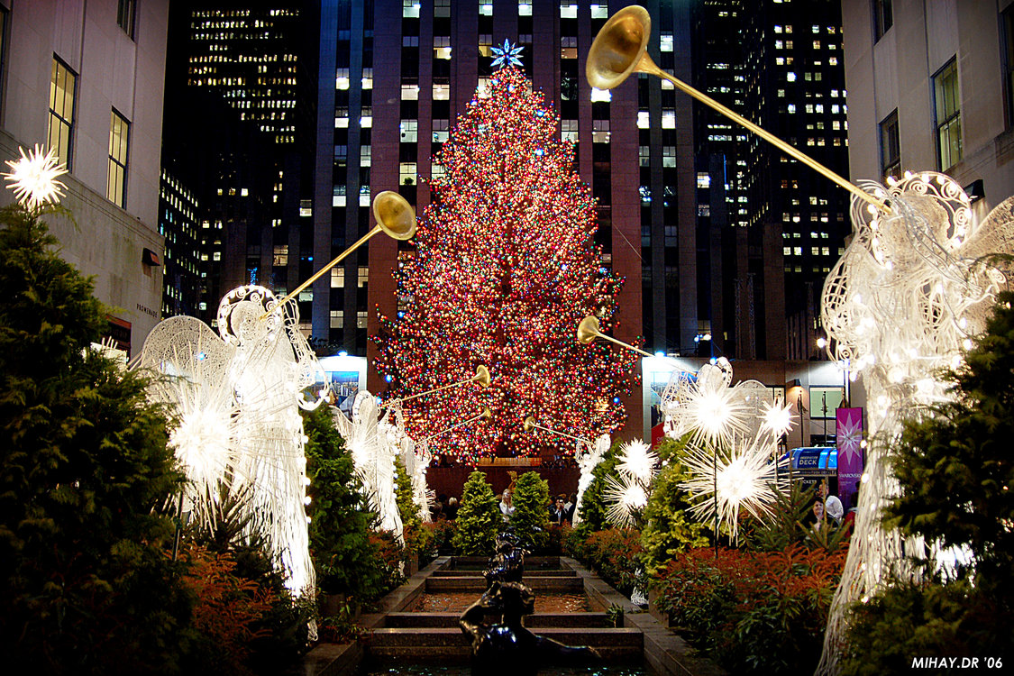 New York City Christmas Tree Pictures Wallpapers