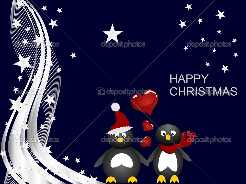 Penguin Christmas Pictures Wallpapers
