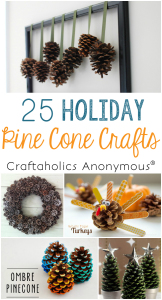 pine cone christmas crafts kJhM