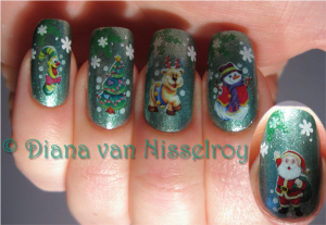pinterest christmas nails wqEN