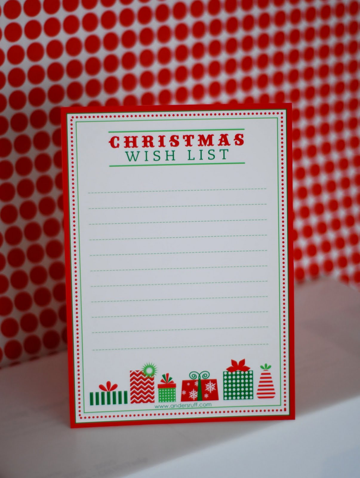 Printable Christmas Wish List Pictures Wallpapers