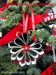 recycled christmas ornaments XmED