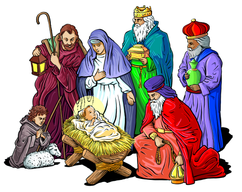 Religious Christmas Clip Art Pictures Wallpapers
