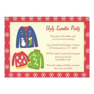 tacky christmas sweater party ideas gmNK