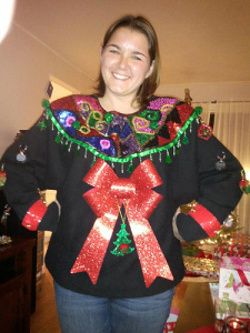 ugly sweater christmas party ideas VXsF