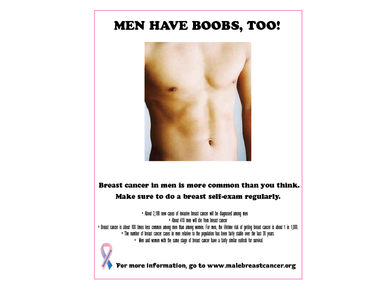 Breast Cancer And Men Pictures Wallpapers