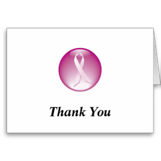 Breast Cancer Thank You Cards Pictures Wallpapers
