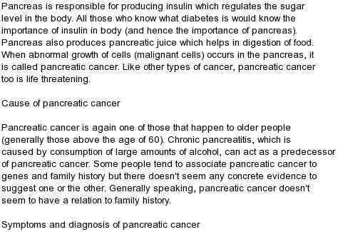 Pancreas Cancer Symptoms Pictures Wallpapers