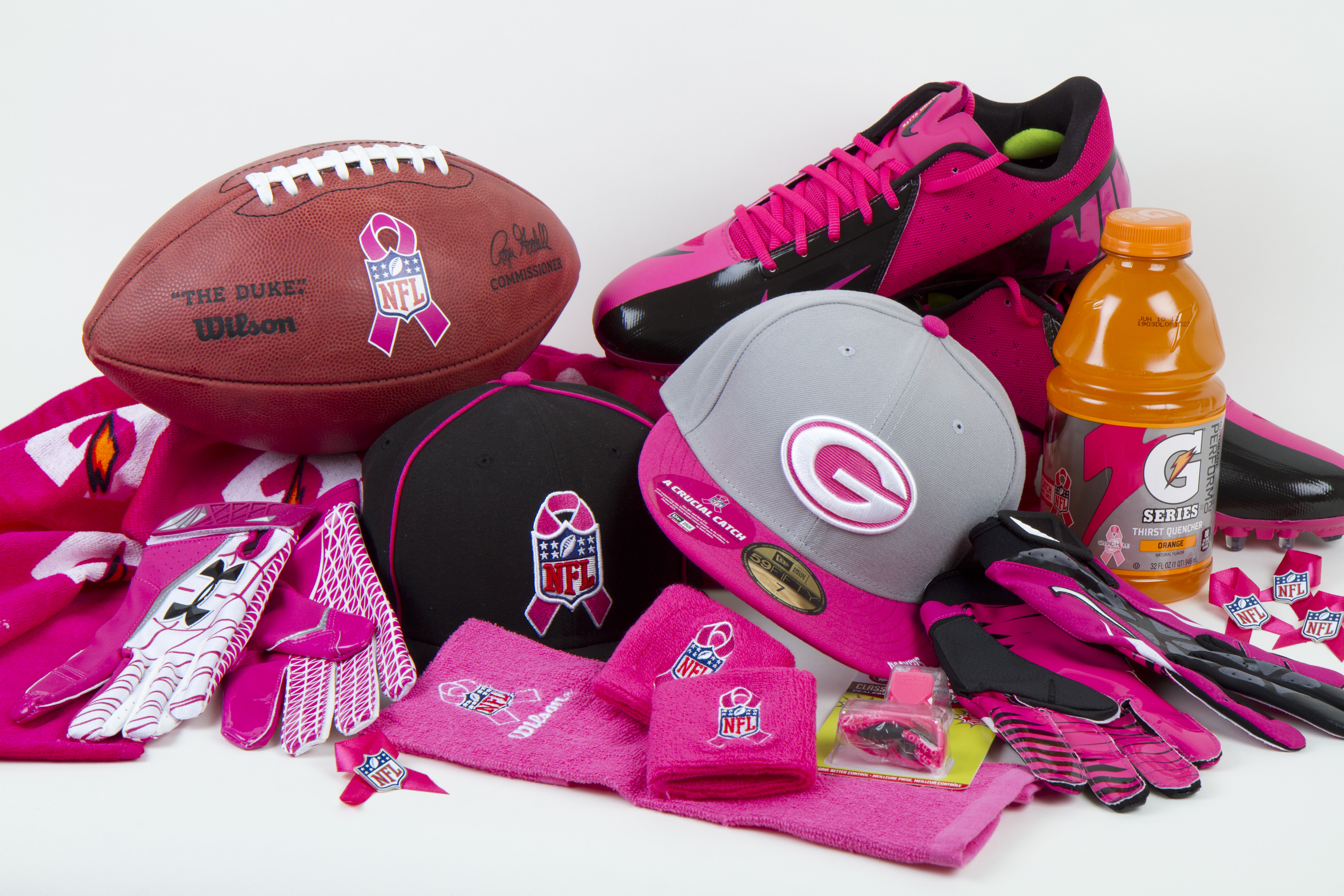 Nfl Breast Cancer Gear Pictures Wallpapers