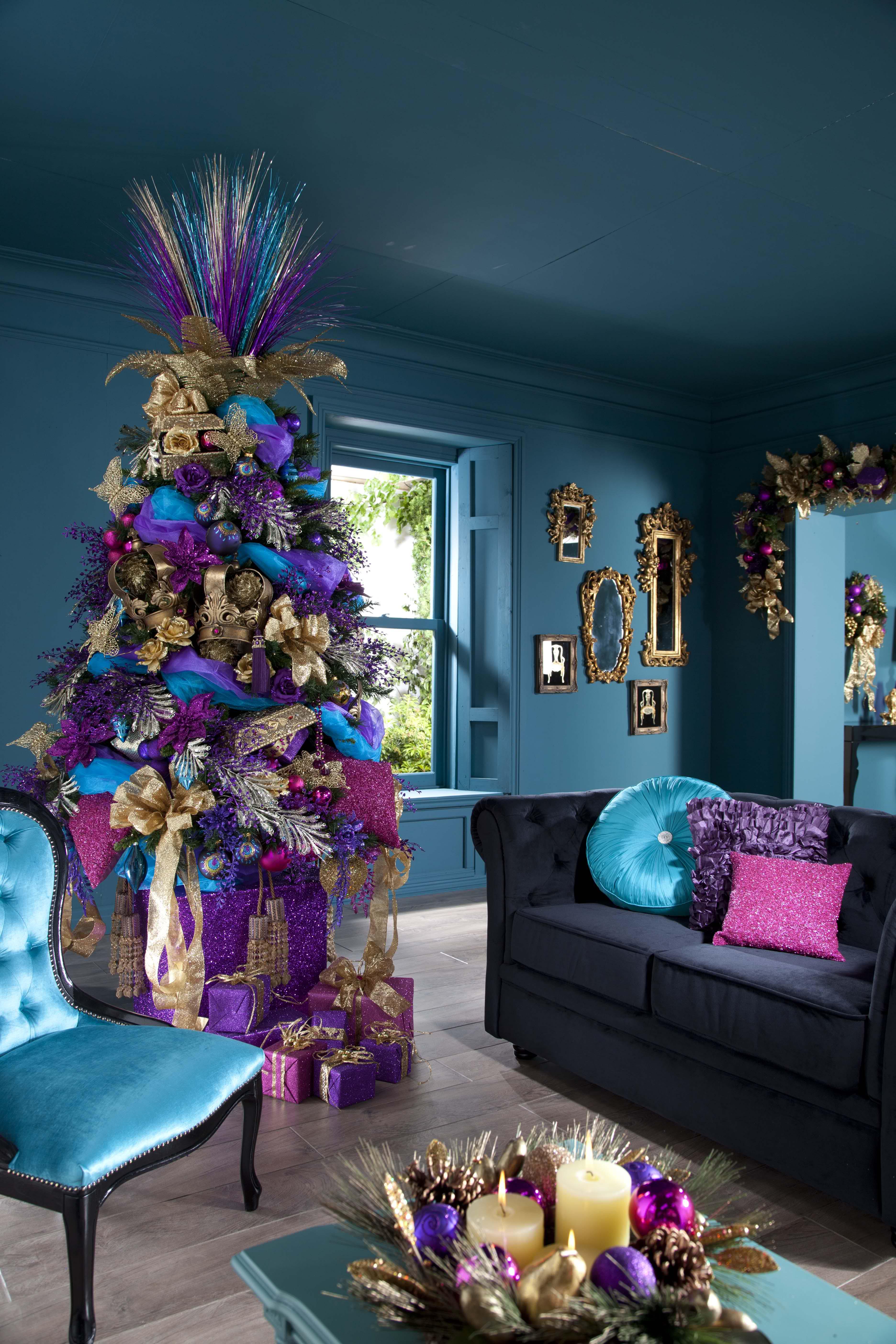 christmas tree decorating ideas - 736×1104