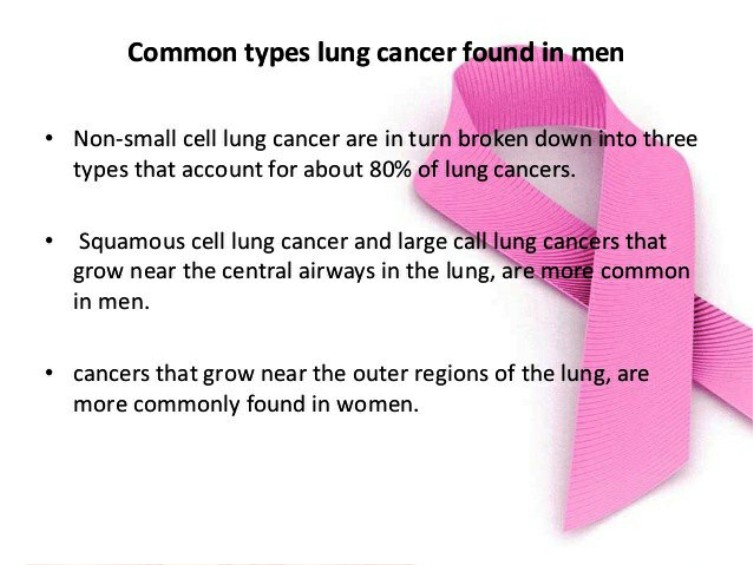Common Types Lung Cancer Found in Men Pictures Wallpapers