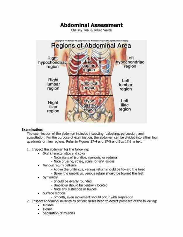 quadrants diagram organs Picture Of Abdominal Quadrants in the abdominal quadrants diagram figure nursing care related to figure Picture